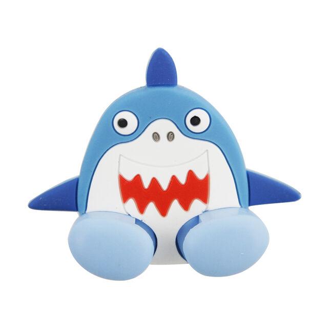 Blue Shark Toothbrush Holder