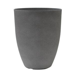 Large Volcanic Grey Stone Plant Pot
