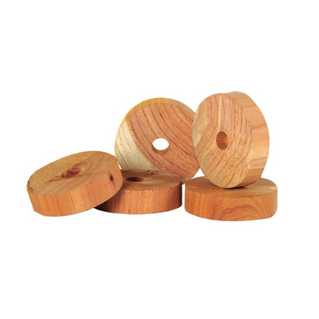 Zero In Cedar wood Moth Repeller- 10 Rings