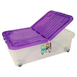 Wham Folding Top Storage Container 32L - Amethyst