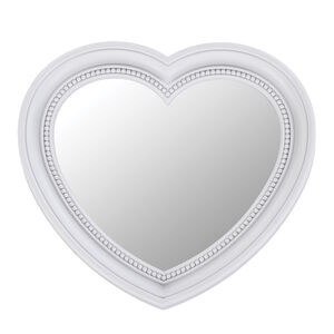 Heart White Mirror