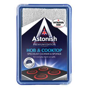 Astonish Premium Hob & Cooktop Cleaner with Sponge