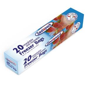 Sealapack 20 Resealable Freezer Bags
