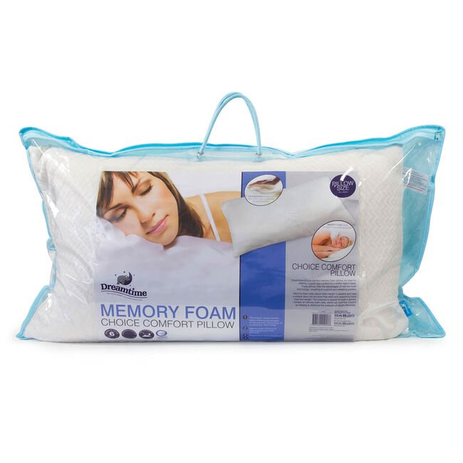 Comfort Choice Memory Foam Pillow