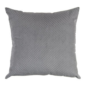 Diamond Cushion 45x45cm - Grey