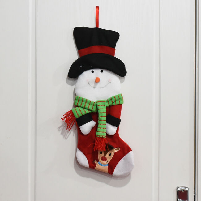 Novelty Christmas Snowman Stocking