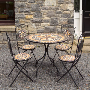 Diamond Mosaic 5Pc Garden Set