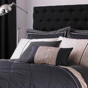 Luxury Geo Natural Pillowshams 50x75cm