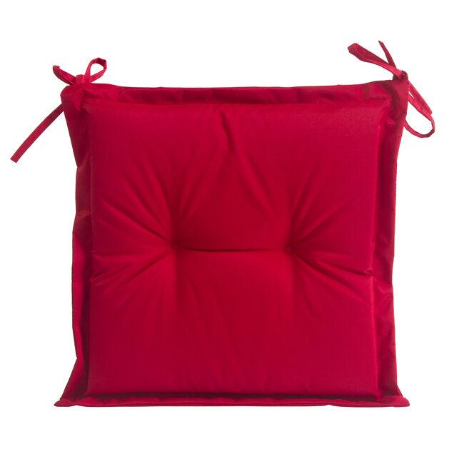 Seat Pad Red 40x40x3cm