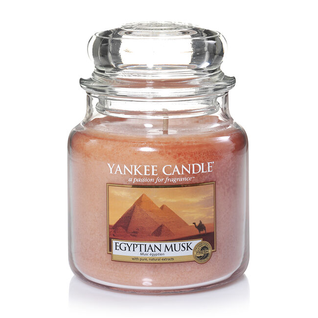Yankee Candle Egyptian Musk Medium Jar