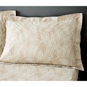 Bernie Oxford Pillowcase Pair - Natural