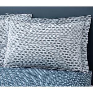 Cody Oxford Pillowcase Pair - Teal