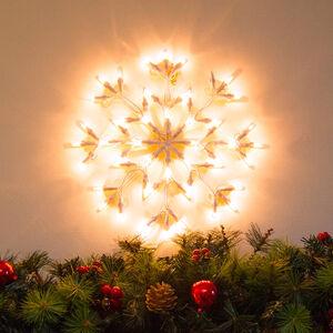 Snowflake Light LED White