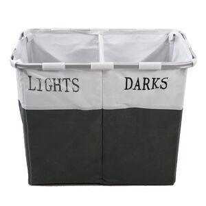 Lights & Darks Laundry Hamper