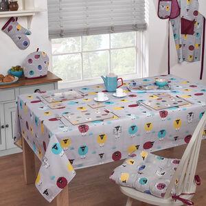 Sheep PVC Table Cloth 160x230cm
