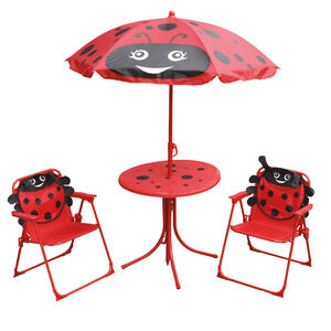 Ladybird Kids Patio Set 4pc