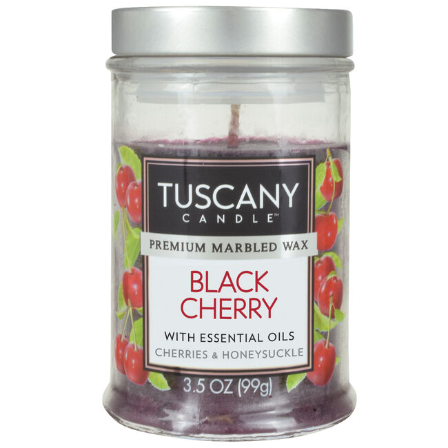 Tuscany 3.5oz Candle Black Cherry