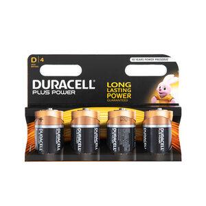 Duracell Ultra D 4 Pack