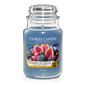 Yankee Candle Mulberry and Fig Delight Large Jar
