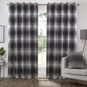 MIDNIGHT BLACK  90x90 Curtain