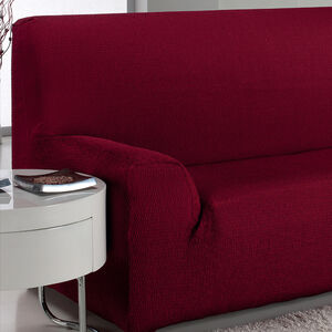 Easystretch Armchair Cover Bordeaux
