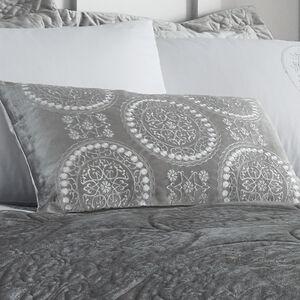 Mandala Silver Cushion 30 x 50cm