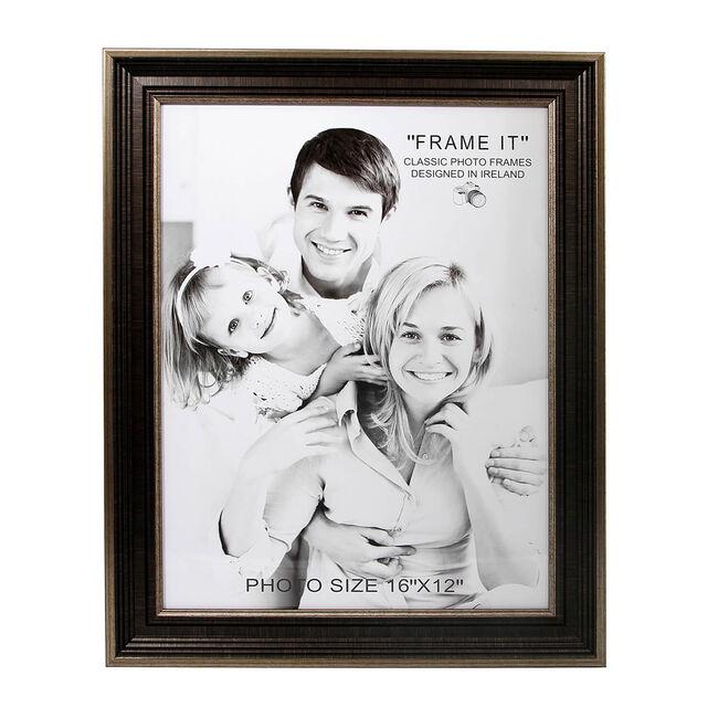 Antique Bronze Slim Photo Frame