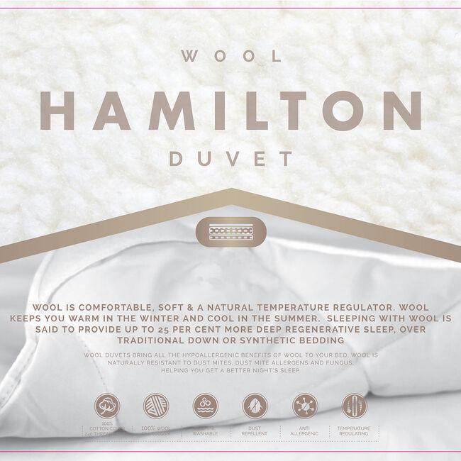 HAMILTON WOOL SINGLE Duvet