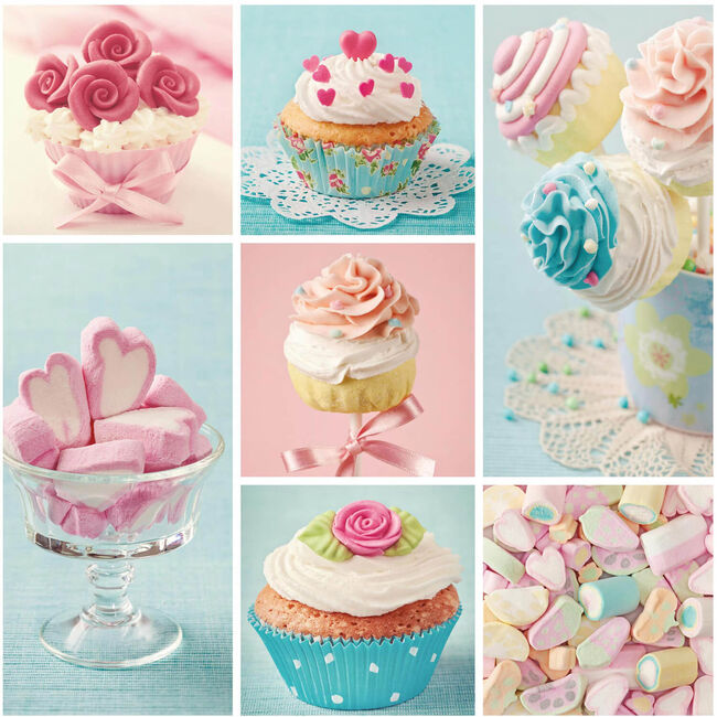 Cupcakes and Sweets Napkins 20 Pack