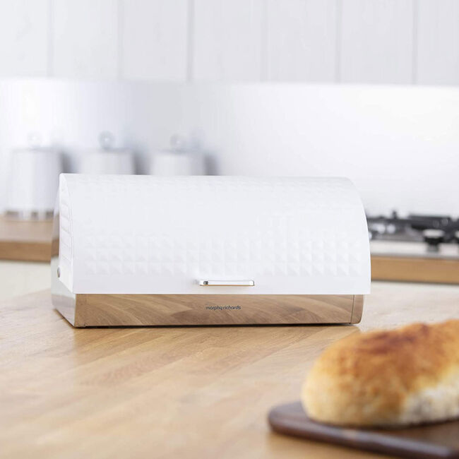 Morphy Richards Dimensions White Bread Bin