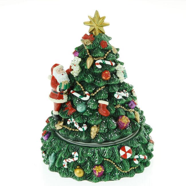 Musical Rotating Christmas Tree