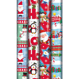 Cute Christmas Gift Wrap 5m
