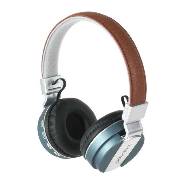 Intempo Blue/Brown Bluetooth Headphones