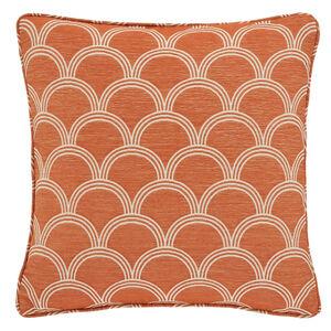 Geo Jacquard Cushion 45x45cm - Terra