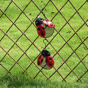 Ladybird Birdfeeder Garden Decoration