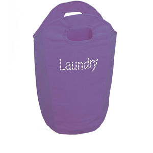 Diamante Folding Laundry Bag