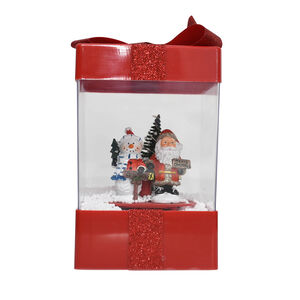 Snowing Lantern Christmas Gift Box