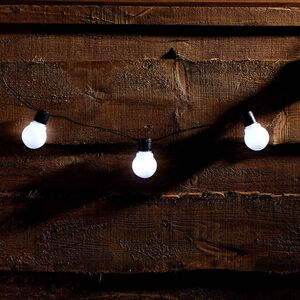 10 LED Party Solar String Lights