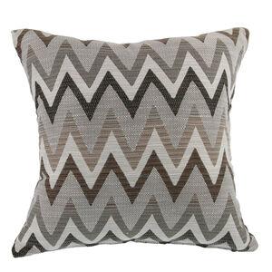 Mary Herringbone Brown Cushion 58cm x 58cm