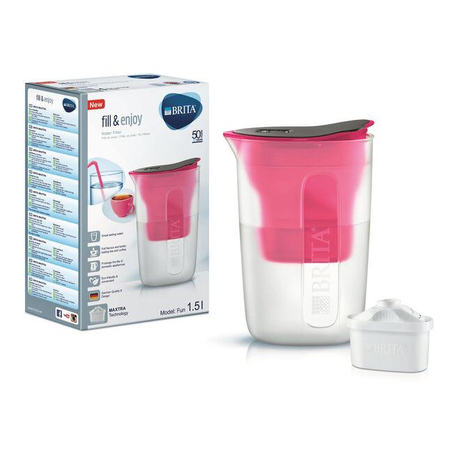 Brita Fun Water Jug - Pink