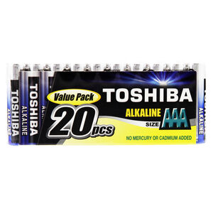 Toshiba AAA Batteries 20 Pack