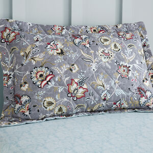 Sinead Oxford Pillowcase Pair - Grey