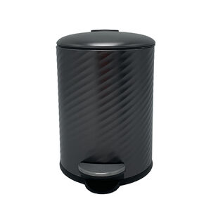 Spiral Embossed Bin 3L - Charcoal