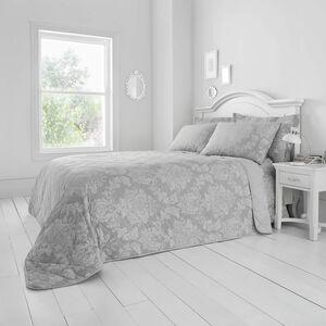 Elvira Bedspread 200 x 220cm - Grey