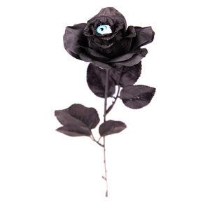 Black Rose With Watching Eye