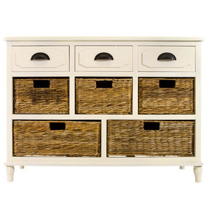 Marceau 3 Drawer Cream Storage Unit