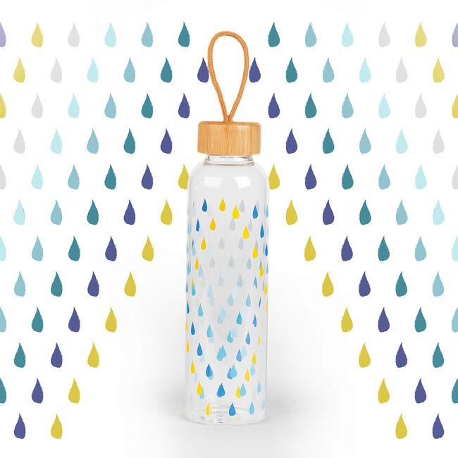 Cambridge Raindrops Glass Bottle - 550ml