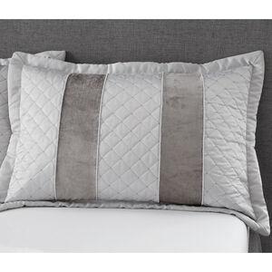 Classic Velvet Pillowsham 50x75cm - Silver