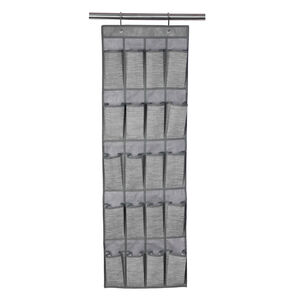 Clever Clothes Shoe Organiser Charcoal 44x135cm
