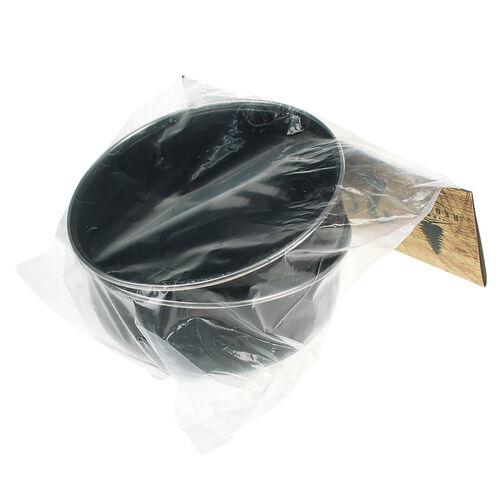2 Black Camping Bowls